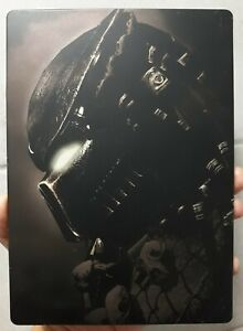 ALIENS vs PREDATOR G1 STEELBOOK collector STEEL CASE steelbox - RARE - no game