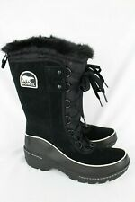 New Sorel Women's Tivoli III High Waterproof Insulated Winter Boots 9.5 Black