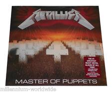 "METALLICA - MASTER OF PUPPETS - 12"" VINYL LP - RECORD ALBUM - SEALED & MINT"