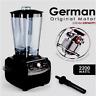 BPA Free 3HP 2200W Heavy Duty Commercial Grade Blender Mixer Juicer High Power..