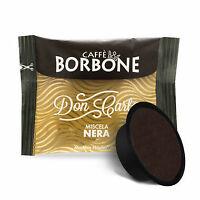 CAPSULE BORBONE COMPATIBILI LAVAZZA  A MODO MIO CAFFE CIALDE MISCELA NERA 10 PZ
