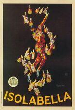 "TARGA VINTAGE ""1910 ISOLABELLA"" Pubblicità, ADVERTISING, POSTER PLATE, ART RETRO"