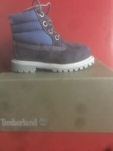 Timberland Toddlers Petits 6 Inch Quilt Kinderstiefel Gr: 21 Neu In Karton