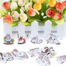 Vivid Rabbit Paper Stickers Diary Scrapbook Book Decoration Photo Album GiftD_ws
