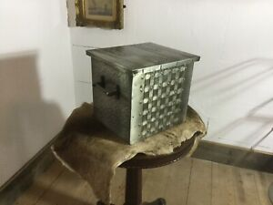 Vintage Metal Coal Scuttle