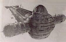 Harkonnen Dune Guild Navigator Drop Ship Wood Model Replica Large Free Shipping