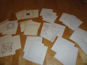 Paket: 10 edle Grußkarten,10 Umschläge, 10 Einleger, Karten basteln, Jittenmeier
