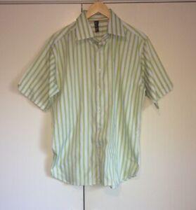 Pierre Cardin Men's Short Sleeve Shirt Size Large