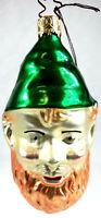 Inge Glas # 2435 Leprechaun German Glass Christmas Ornament