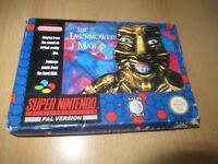 Super Nintendo - THE LAWNMOWER MAN - SNES - COMPLETO - en caja PAL