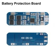 Top  3S 12V 18650 10A BMS Charger Lithium Battery Protection Board 2018