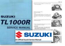 Suzuki TL1000R Workshop Service Shop Repair Manual TLR TL 1000 1998 to 2002