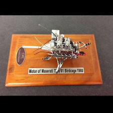 CMC M-126 Maserati Tipo 61 Engine with Showcase 1:18 Diecast NEW - AUTH DEALER