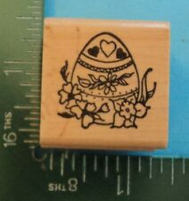 Decorated Easter Egg Rubber Stamp by Embossing Arts