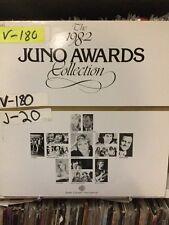 1982 Juno Awards - Lover boy, Saga, Bruce Cockburn, Ronnie Hawkins McKenzie Bros