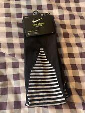 Mens Nike Socks DriFit Knee High Blacm