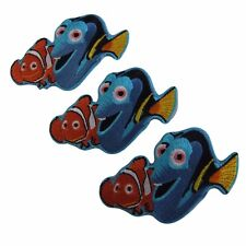 Disney's Finding Nemo Movie Marlin And Dory Embroidered Patch Set of 3