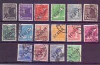 Berlin 1948 - Schwarzaufdruck - MiNr. 1/16 gestempelt - Michel 355,00 € (807)