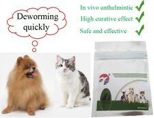 30 Tablets Dog Cat Pet Animal Wormer Worming Tablets Dewormer