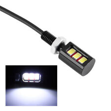 1 Paio Universale Auto Moto 3LED Targa Lampada Luce Bianco