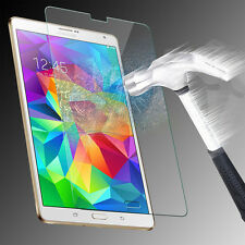 """Tempered Glass Screen Protector Film Samsung Galaxy Tab S 8.4"""" 4G T700 T705"""