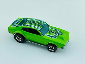 Hot Wheels Redline MIGHTY MAVERICK Light Green Flying Colors EX/NM Very Clean !!