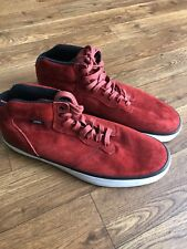 358522904b Vans OTW Mens Piercy Suede Red Mid Top Skateboard Shoes Size 9 Casual