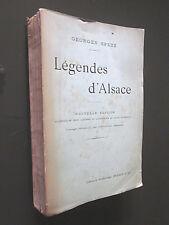 LEGENDES D'ALSACE par GEORGES SPETZ 1912