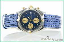 BREITLING Windrider Chronomat STAHL GOLD Automatik ChronographHai-Band Uhr