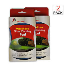Cleaning Pad Dual Purpose High Quality Microfibre & Chamois Twin Pack