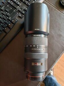 Sony G-Series 70-300mm f/4.5-5.6 SSM G Lens