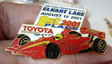 PIN'S F1 FORMULA ONE USA CART FEDEX SERIES 2001 ELKART LAKE TOYOTA EGF MFS