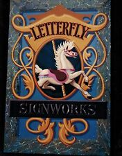 8x10 Handpainted Circus Carnival Horse ArtWork Photo Portfolio Pages Artist-Gift