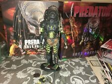 "Lost Predator 2 Hot Toys 12"" Figure With Box Missing Extend Spear"