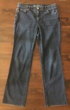 Charter Club Jean Shop Womens Jeans Size 10 Classic Straight Comfort Dark 32x30