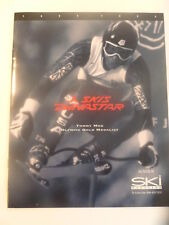 TOMMY MOE 1994 1995 SKIS DYNASTAR CATALOG OLYMPIC GOLD MEDAL