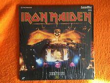 Iron Maiden Donington Live 1992 laserdisc