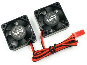 Yeah Racing 30 X 30 X 10mm Dual Tornado High Speed ESC Motor Cooling Fan YA-0641