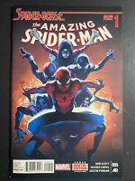 Marvel Comics Amazing Spider-Man #9 Spider-Verse Part 1 regular cover