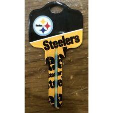 Great Gift Idea NFL PITTSBURGH STEELERS KWIKSET KW1, KW10, KW11 UNCUT KEY BLANK
