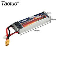 Taotuo 11.1V 4500MAH 3S 30C XT60 Plug Lipo Battery Back For RC Helicopter Drone