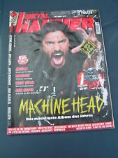 Metal Hammer 11/2011 MACHINE HEAD ANTHRAX MASTODON WOLVES IN THE THRONE ROOM SUM