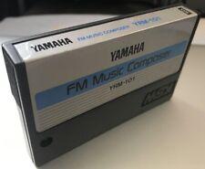Yamaha fm music composer msx yrm-101