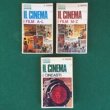 Georges SADOUL - IL CINEMA dalla A/Z + CINEASTI - 3 Volumi Sansoni (1967/68)