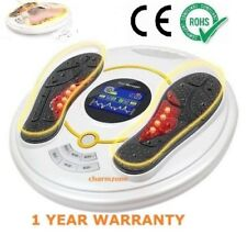 Foot Body Massager Large LCD 8 EMS Pad Infrared Heat Therapy & Remote Controller