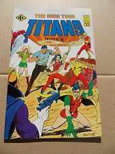 Official Teen Titans Index 2 of 5  .  ICG . 1985 -  VF / VF+