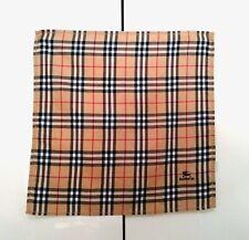 Burberrys Bandana Pocket Square Mini Scarf Handkerchief Neckerchief Nova Check 2