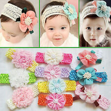 Nt Newborn Baby Girl Kids Headband Infant Toddler Bow Hair Band Girl Accessories