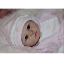 Real Touch 20inch Reborn Kit Silicone Head Full Limb Mold Awake Baby Doll #1