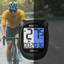 Bike Bicycle Computer GPS Wireless Speedometer Odometer USB Waterproof Durable